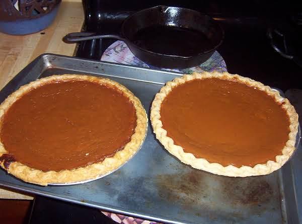 Jack Frost Pumpkin Pie