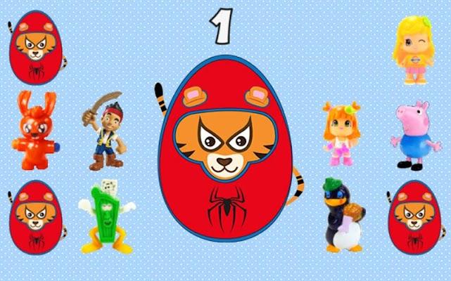 Surprise Eggs - Animals - screenshot