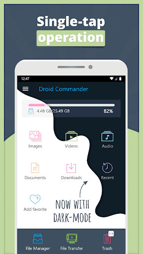 Droid Commander - File Manager ss1