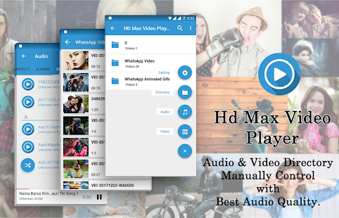 HD Max Video Player 2018 - náhled