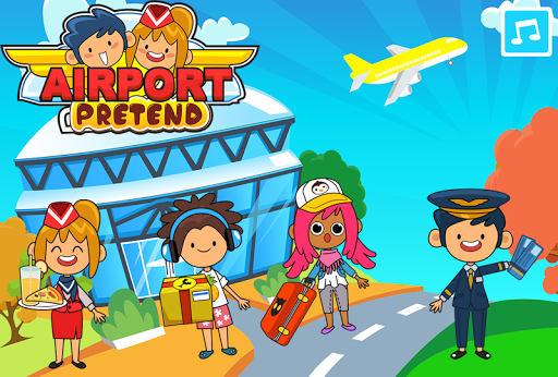 My Pretend Airport - Kids Travel Town Games  {cheat|hack|gameplay|apk mod|resources generator} 5