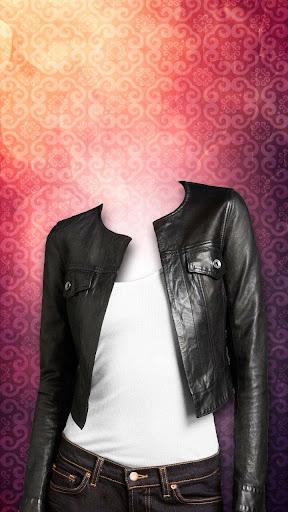 女性のジャケットスーツフォトメーカー