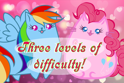 Puzzles kittens-pony 4 screenshots 2