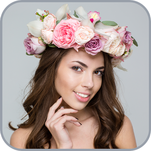 Flower Crown - Beauty With Heart,Crown,Lady Crown