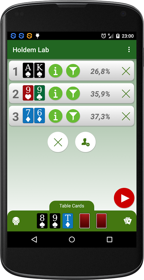 Poker Calculator Holdem Lab - Android Apps on Google Play
