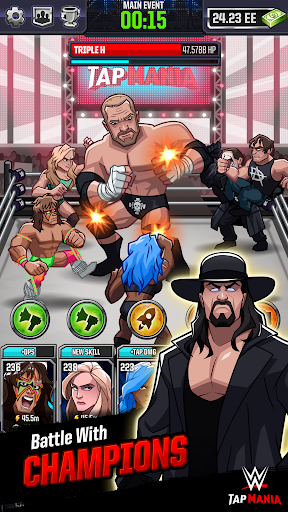 WWE Tap Mania: Get in the Ring in this Idle Tapper 17637.20.0 screenshots 4