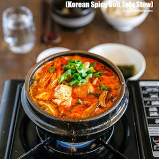 Sundubu Jjigae (Korean Spicy Soft Tofu Stew)