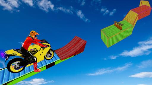Motorcycle Stunt Game:Bike Stunt Game 1.0 screenshots 1