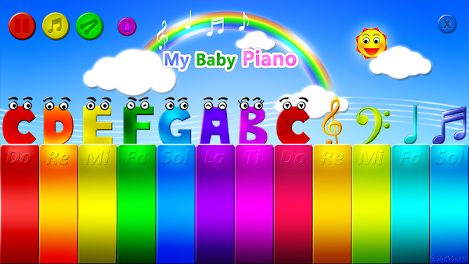 My baby Piano Android 1