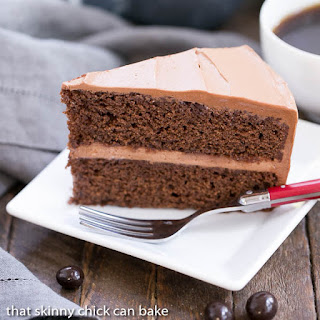 Mocha Layer Cake #SundaySupper