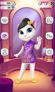 My Talking Angela Mod Apk  4.8.0.831 [Unlimited Money] 4