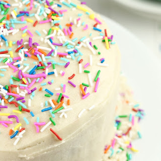 Vegan Gluten-Free Funfetti Birthday Cake