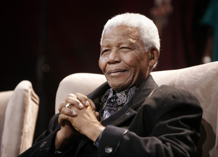 The late former president Nelson Mandela. Picture: REUTERS