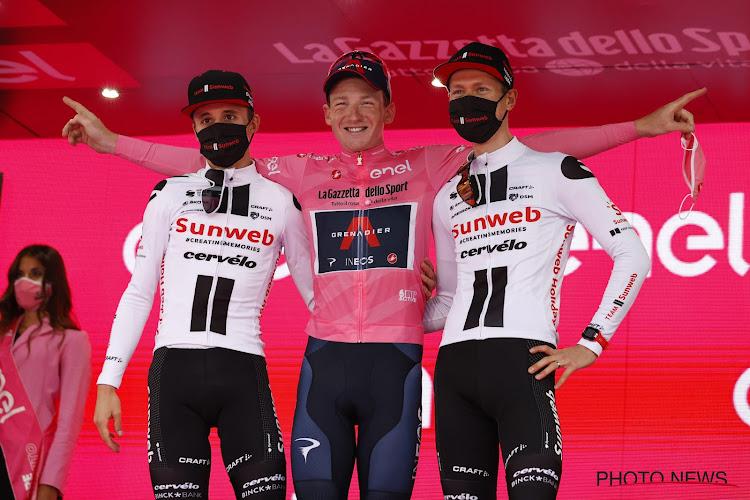 """Na verloren Giro is Sunweb nog steeds overtuigd van keuze: """"Sta nog steeds achter keuzes die we gemaakt hebben"""""""