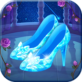 Magic Princess Crystal Shoes:school party