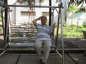 Photo: Thầy Đức vẫn khỏe