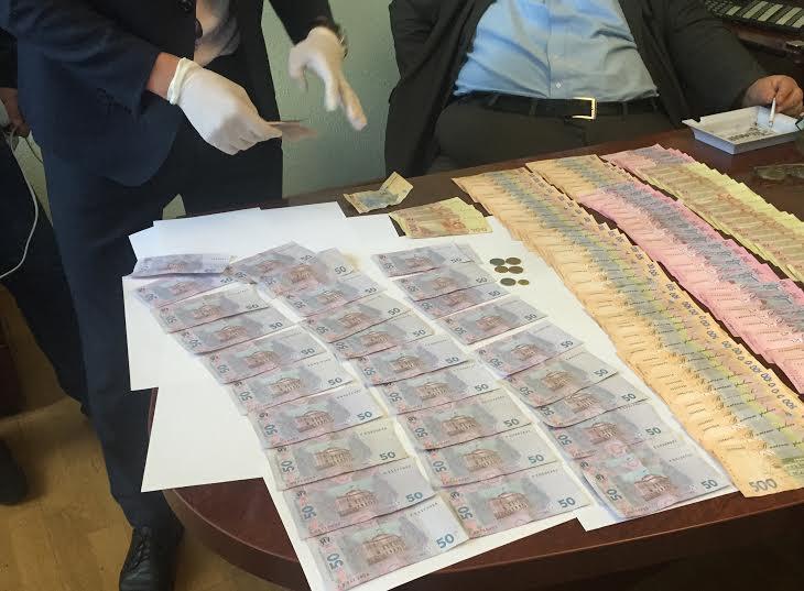 Знайдені у Голіка 40 тисяч.Фото прес-служби Рівненської області