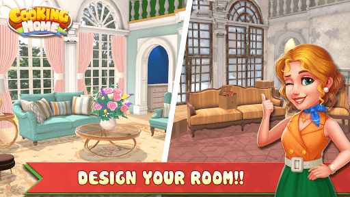 Cooking Home: Design Home in Restaurant Games 1.0.10 screenshots 8