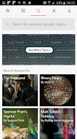 Screenshot of Flipboard: Your News Magazine