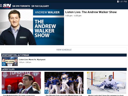 Sportsnet screenshots 8