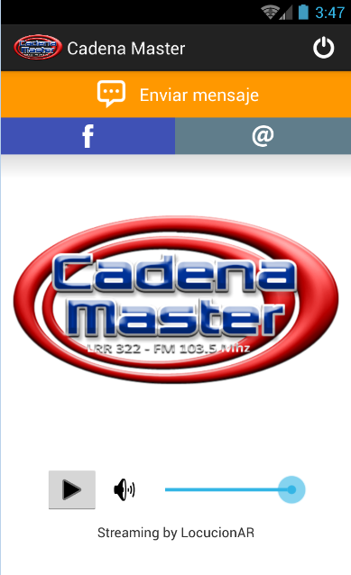 Cadena Master- screenshot