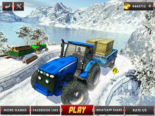 Farm Tractor Cargo Driving Simulator 20 1.5 screenshots 11