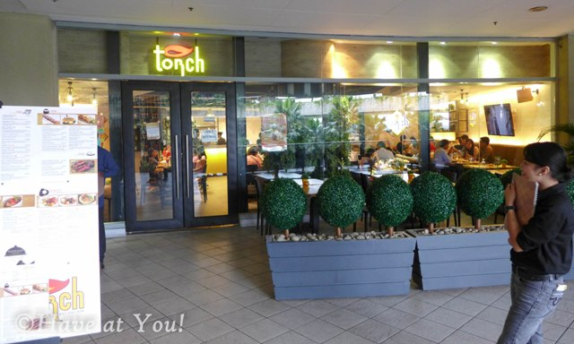 Torch storefront