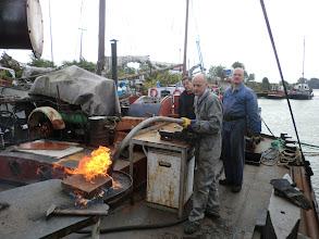 Photo: Kop maken voor ankerdavid
