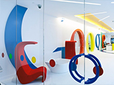 Google's Europe Office in London – CSG, United Kingdom.