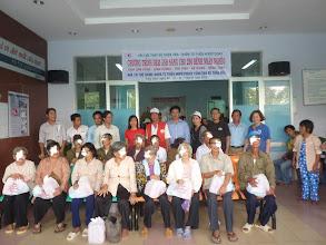 Photo: Hopetoday to chức mổ mắt 155 ca, cho người nghèo ơ các tỉnh tại Bệnh Viện Trưng Vương/Saigon
