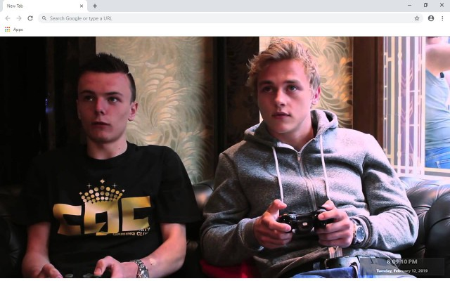 Ben Hardy New Tab & Wallpapers Collection