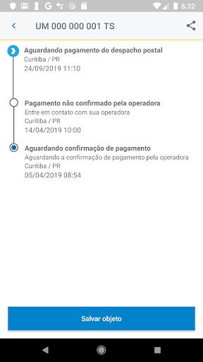 Correios screenshot 4