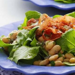Warm Bean & Arugula Salad.