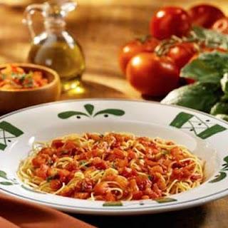 Copycat Olive Garden's Capellini Pomodoro.
