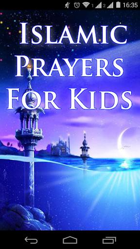Islamic Prayers For Kids