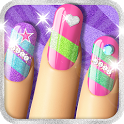 Glitter Nail Salon: Girls Game by Dress Up Star icon