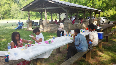 Photo: around the picnic table