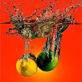 Lemon Lime in Orange Time by Craig Luchin - Food & Drink Fruits & Vegetables ( , Food & Beverage, meal, Eat & Drink )
