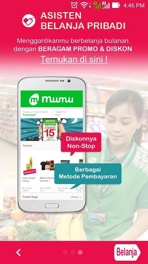 Mumu Grocery Deliveries- screenshot