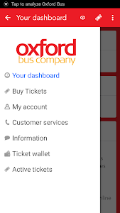 Oxford Bus and X90 m-Tickets screenshot 1