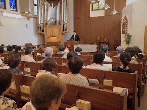 Photo: 7月29日公開講演会「キリスト者は死をどう考えているか」(講師:伊藤英志)