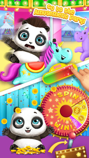 Panda Lu Baby Bear City - Pet Babysitting & Care 3.0.4 screenshots 6