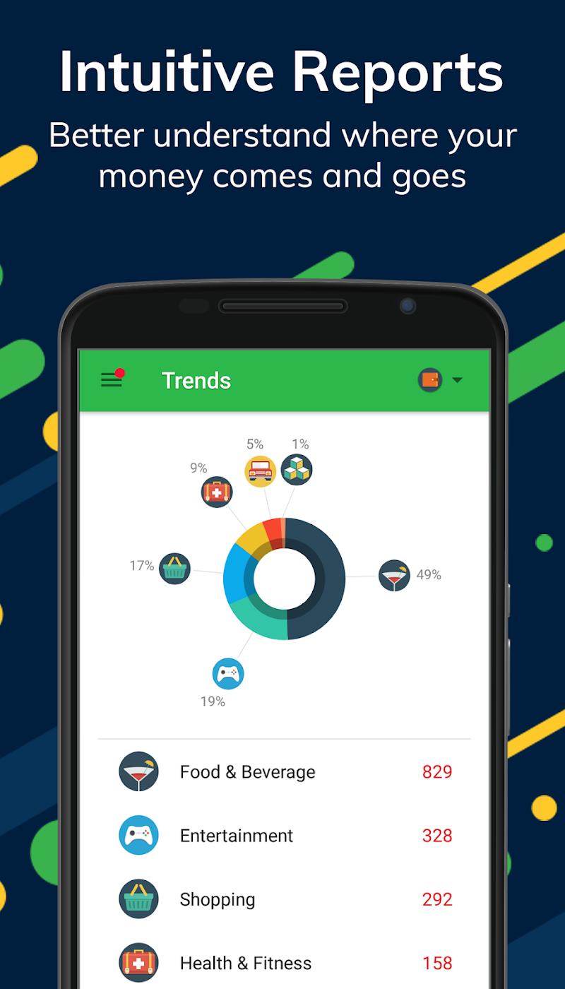 Money Lover: Budget App & Expense Tracker Screenshot 2