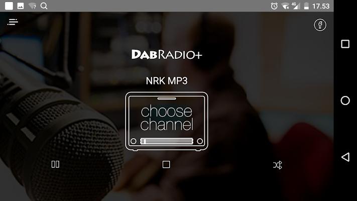 DAB Radio + Norge - screenshot