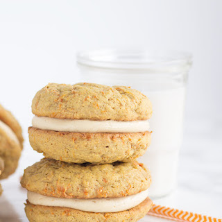 Peanut Butter Carrot Cake Whoopie Pies.