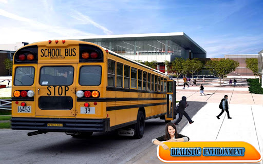 City School Bus Drive 3D game (apk) free download for Android/PC/Windows screenshot