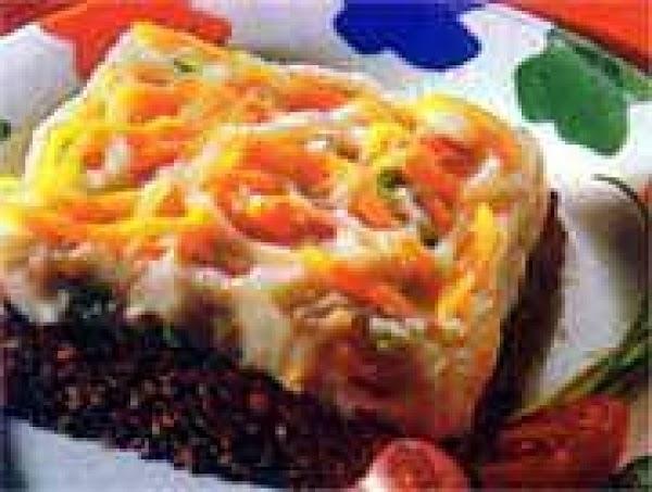 Chili Meatloaf And Potato Casserole Recipe