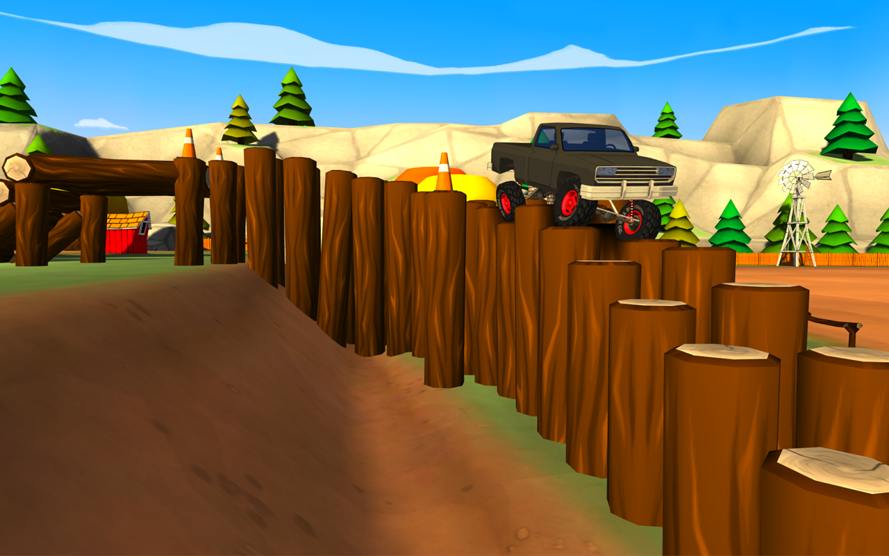 Truck Trials 2: Farm House 4x4 - screenshot