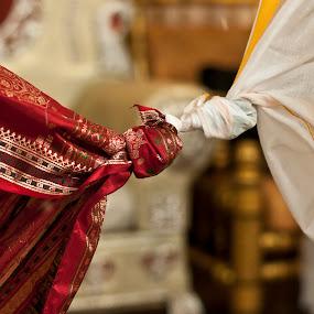 by Sudheer Hegde - Wedding Bride & Groom