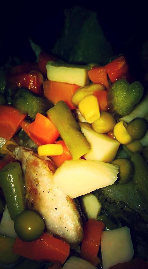*** I make it this way for a side dish, pork roast or brats.
